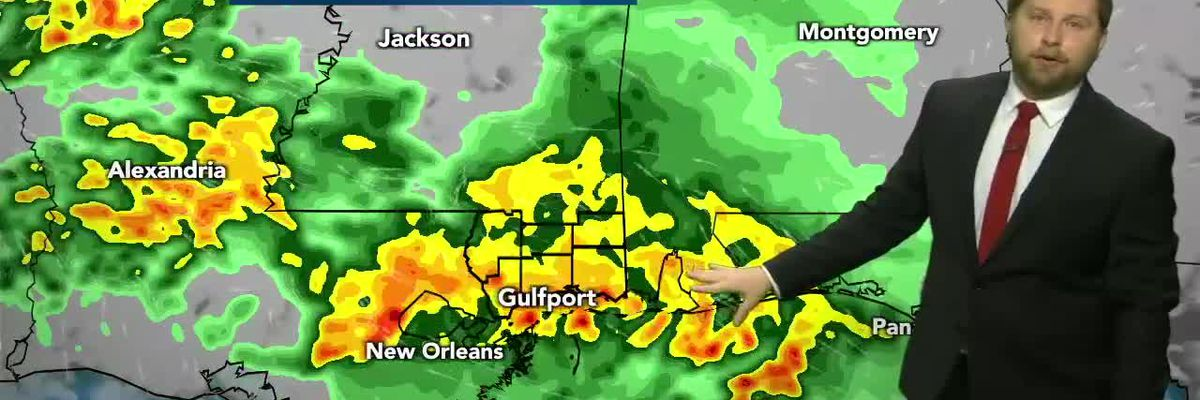 Heavy storms again overnight into Thursday morning, again Friday afternoon