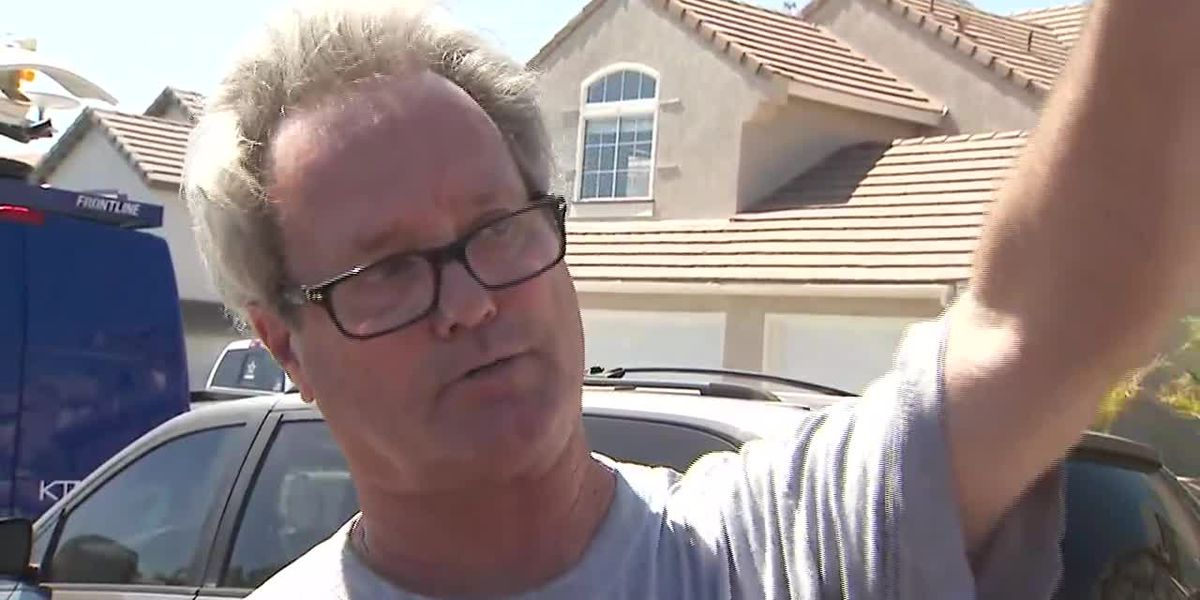 Witness describes California house explosion