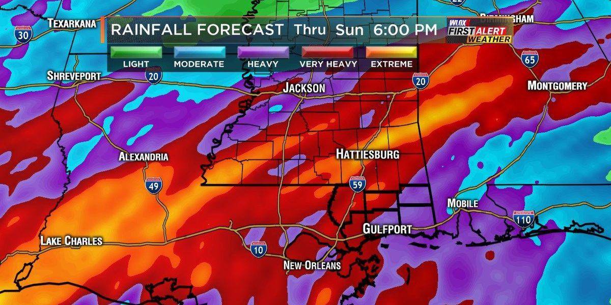 Wesley's Blog: Wet weather woes in Halloween weekend's forecast