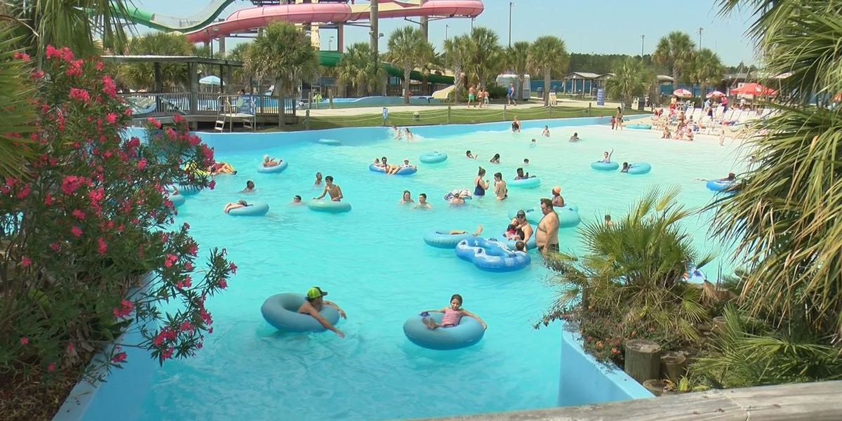 Gulf Islands Water Park opens to good crowds with safety in mind