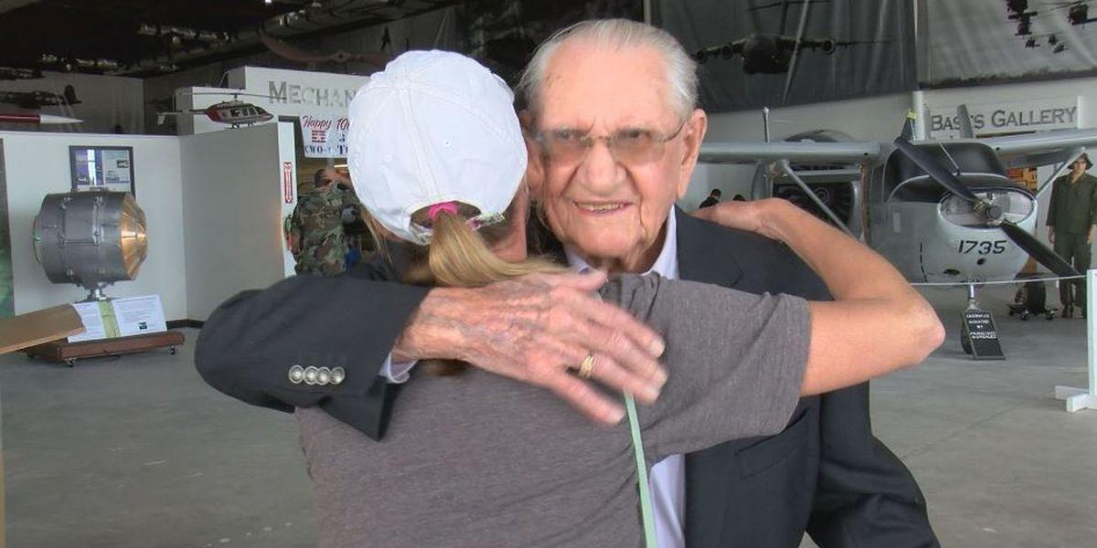 Tom Adams, veteran of three wars, celebrates 100 years