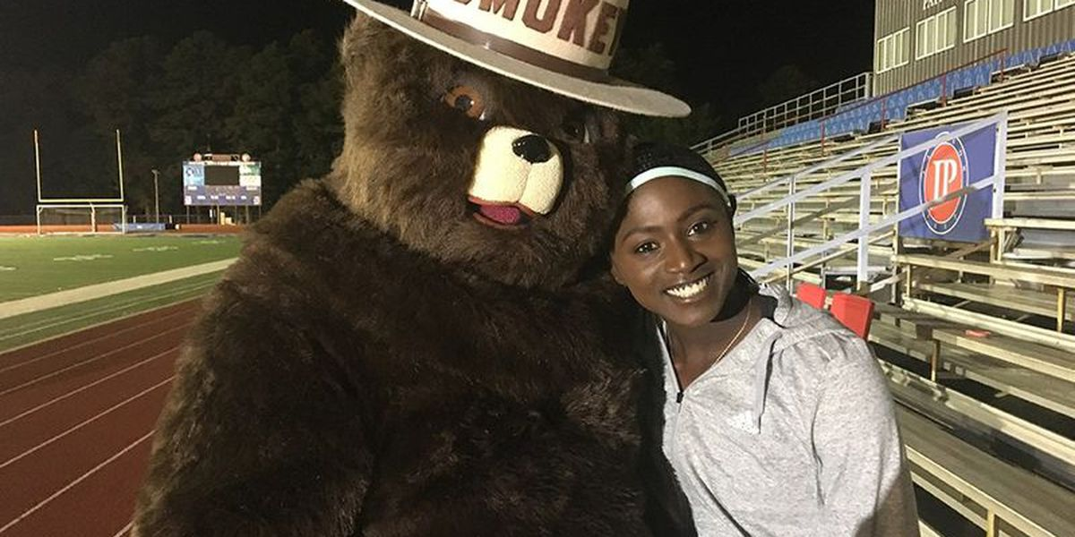 Olympic gold medalist Tori Bowie is helping put out fires in Mississippi