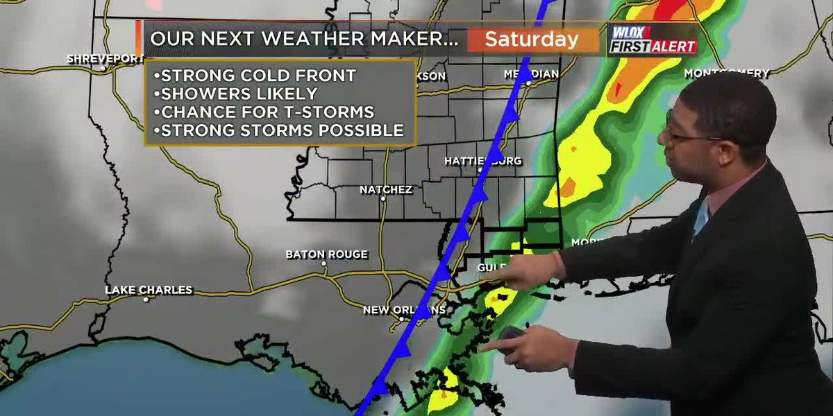 Wesley's Friday First Alert Forecast