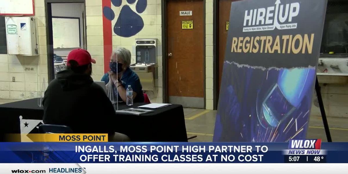 Ingalls partners with Moss Point High to offer training classes