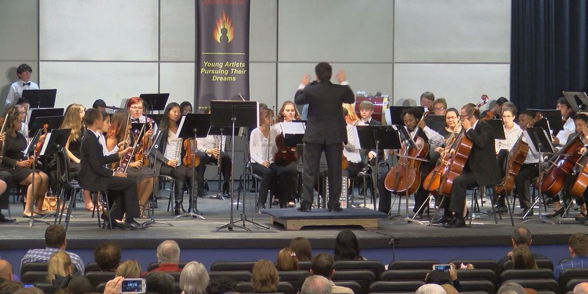 Youth orchestra plays to standing ovation