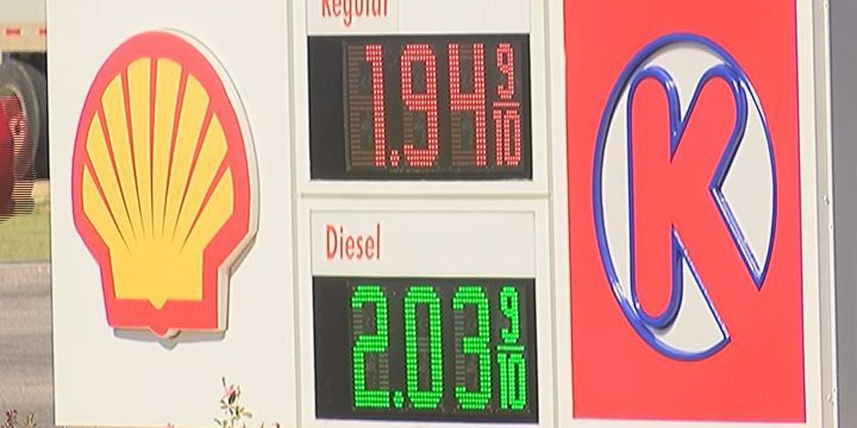 Gas prices take a dip in South MS