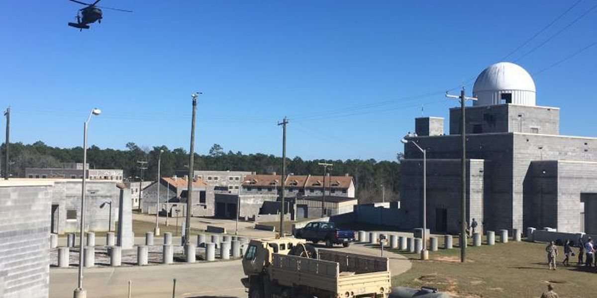Disaster response training underway at Camp Shelby