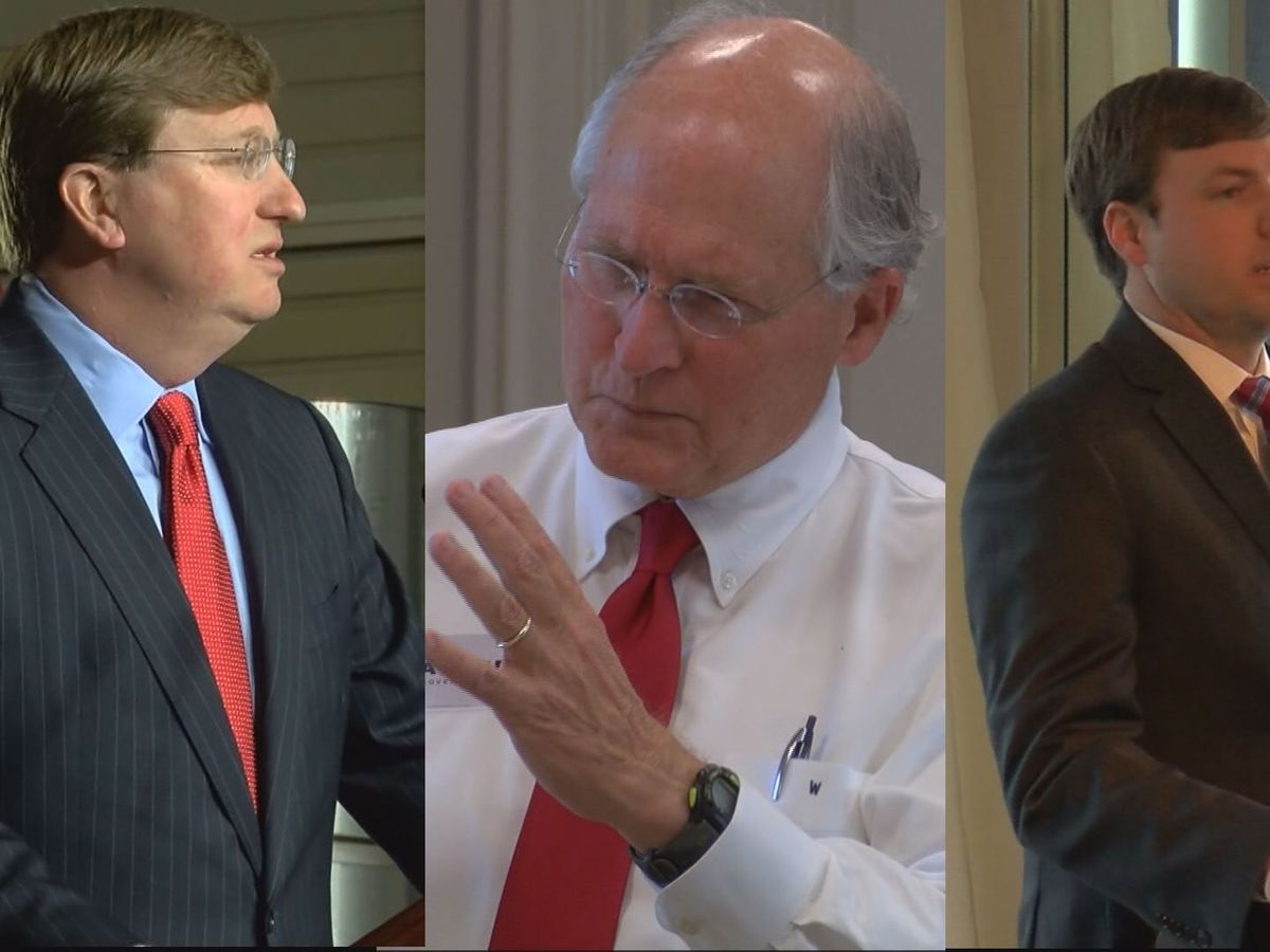 Republican candidates face off in first gubernatorial debate