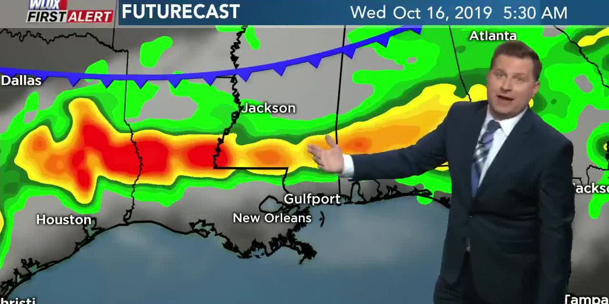 Cold front arrives mid-week