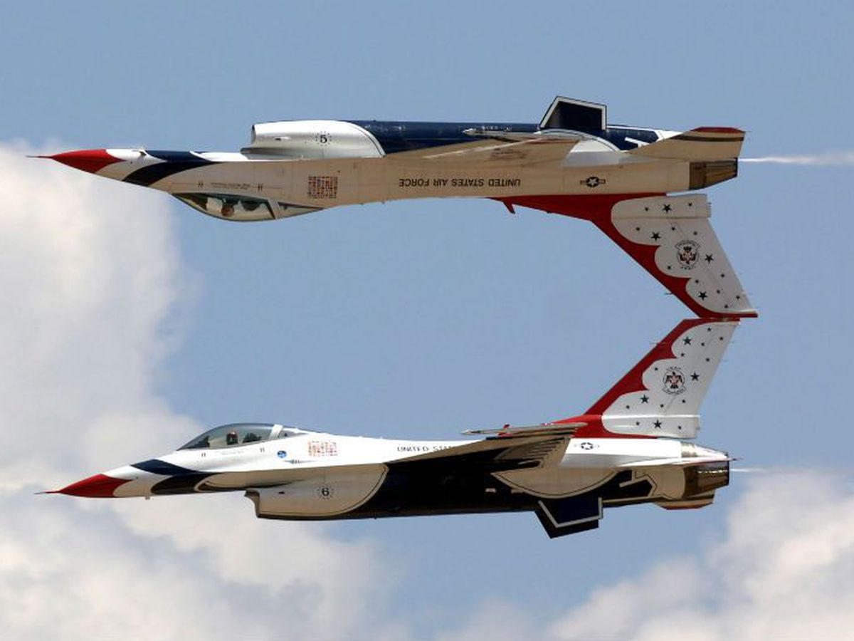 Date confirmed for Thunderbirds airshow over Biloxi