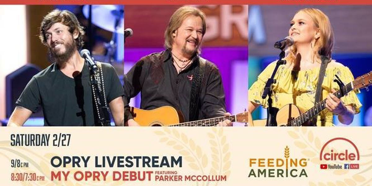 Opry live stream on WLOX CBS to raise money for those suffering from storms, pandemic