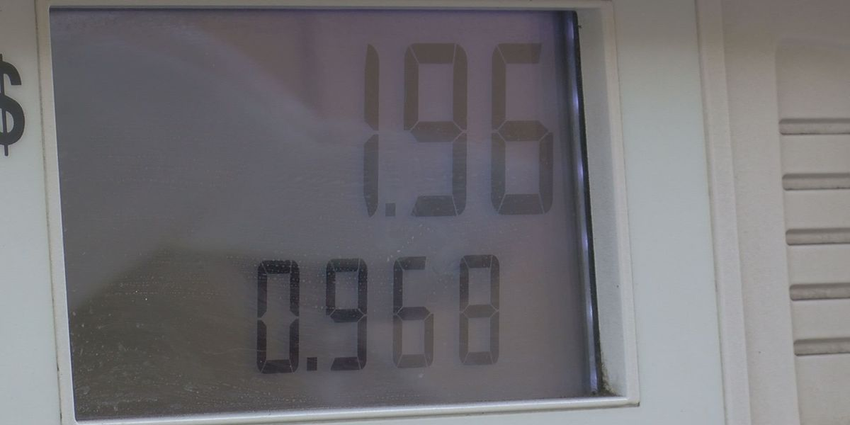 Gas prices are low across South Mississippi