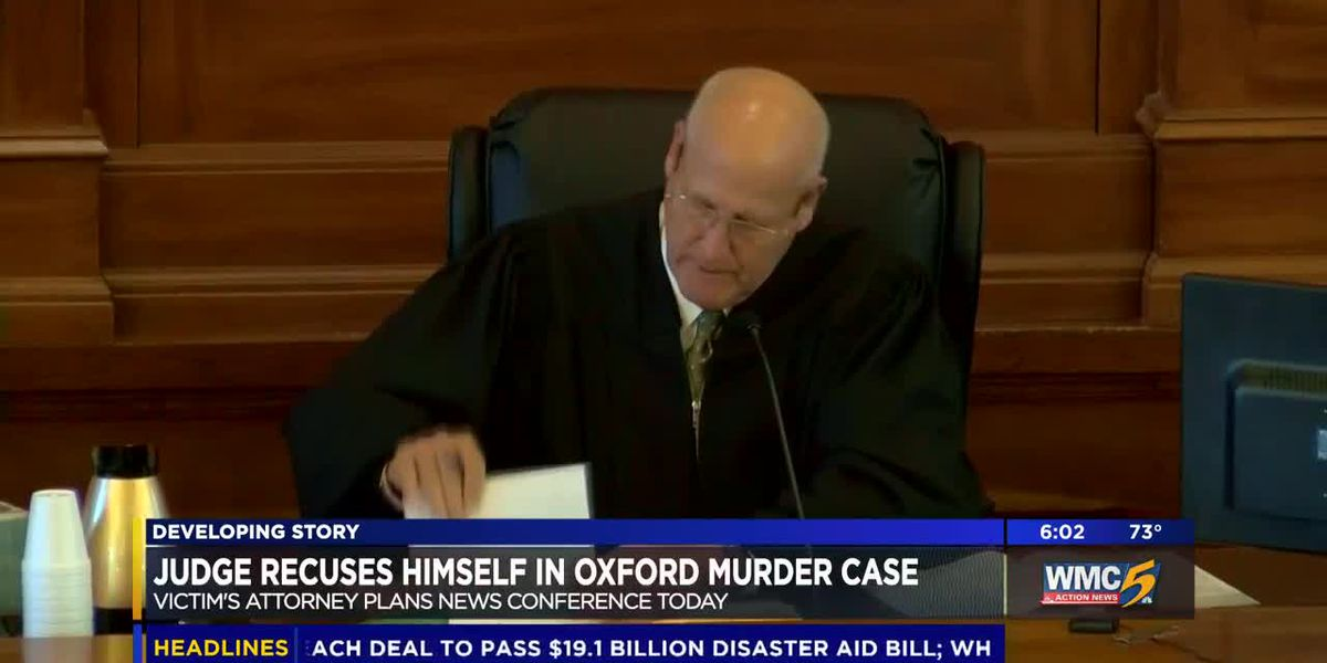 Attorney to discuss Oxford murder case after judge's recusal
