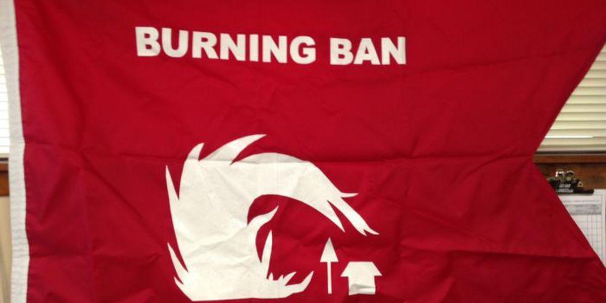 Burn ban issued for Bay St. Louis, Waveland