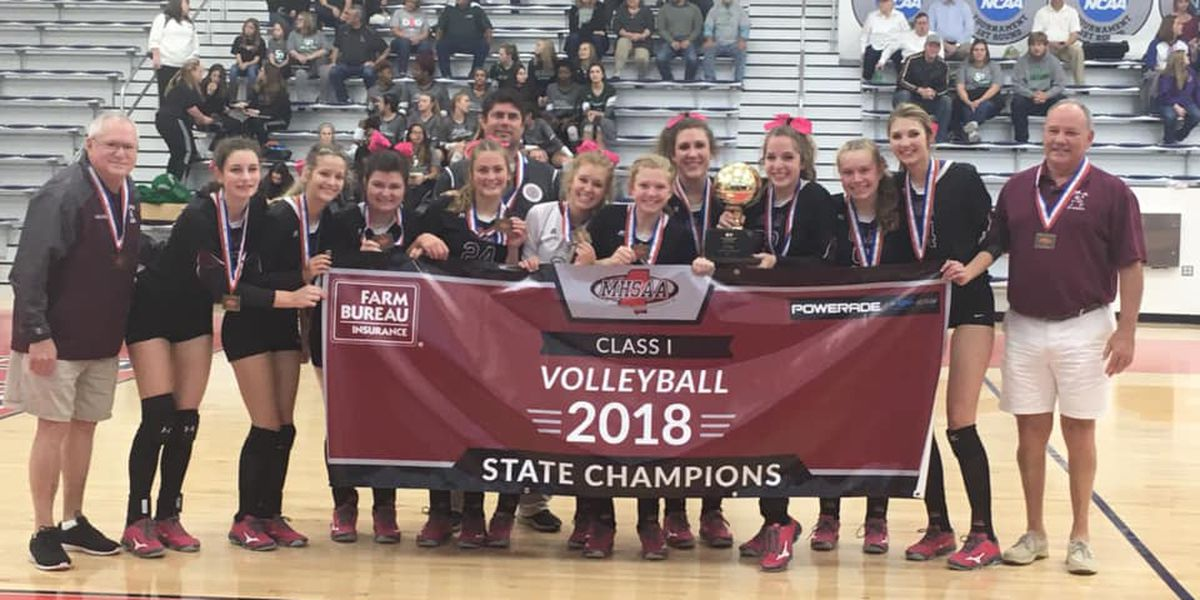 Our Lady Academy wins seventh straight volleyball State Championship