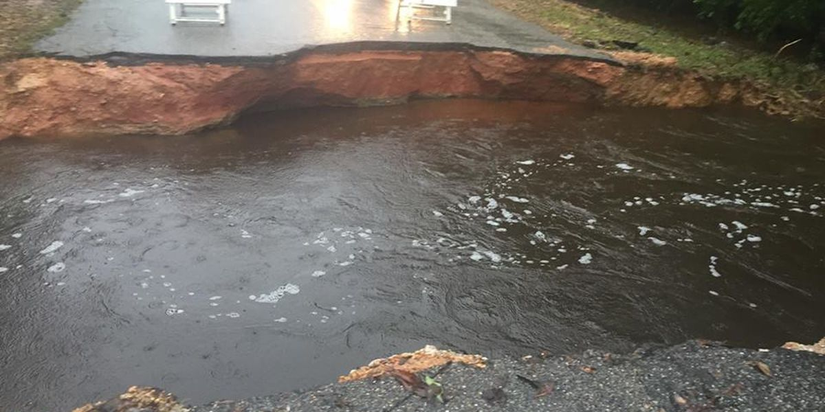 Washed out road repaired, reopened