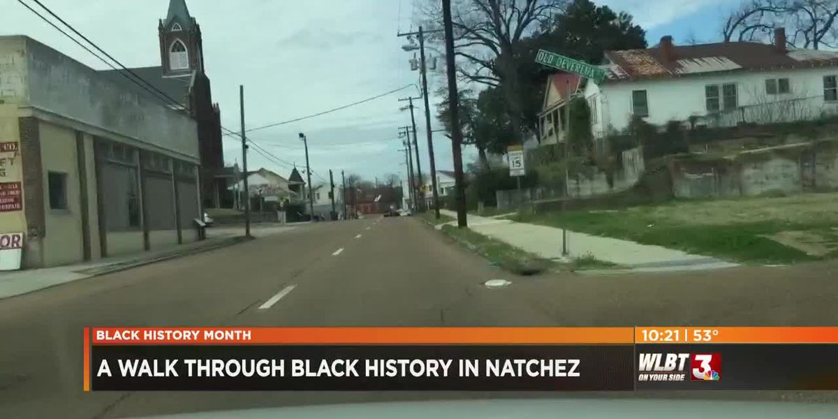 A walk through Black history in Natchez