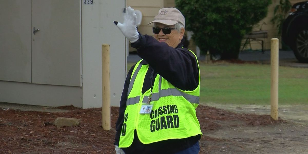 South Mississippi Strong: Biloxi crossing guard does more than just direct traffic