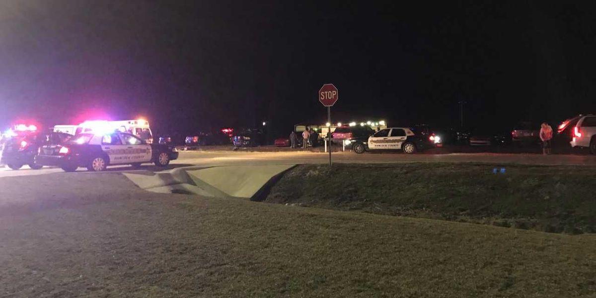 Victim identified in accident outside Hancock Co. school