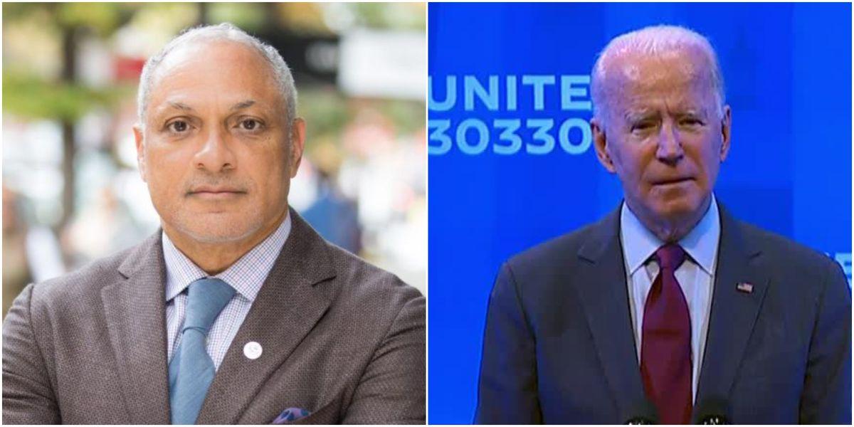 U.S. Senate candidate Mike Espy receives endorsement from Joe Biden