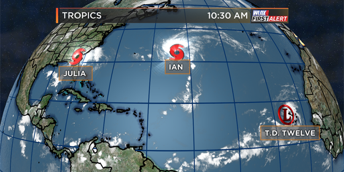 Tracking three tropical systems in the Atlantic