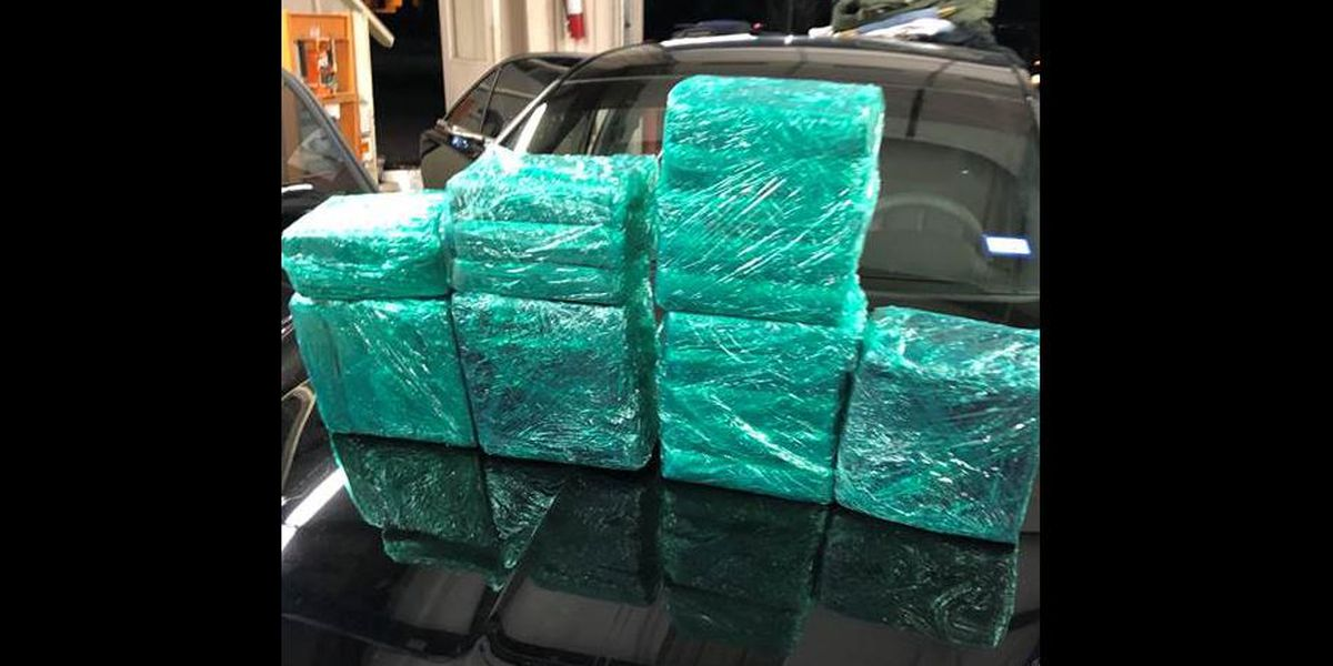 Man arrested after over $1 million of cocaine found during traffic stop