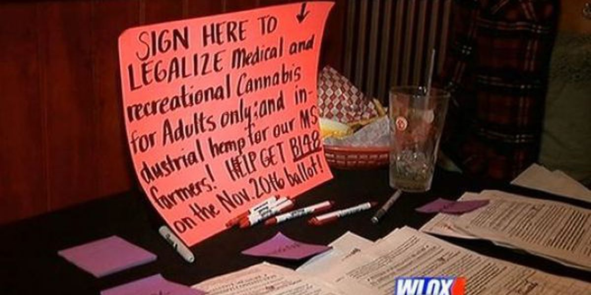 Jackson County residents line up and sign up to legalize marijuana