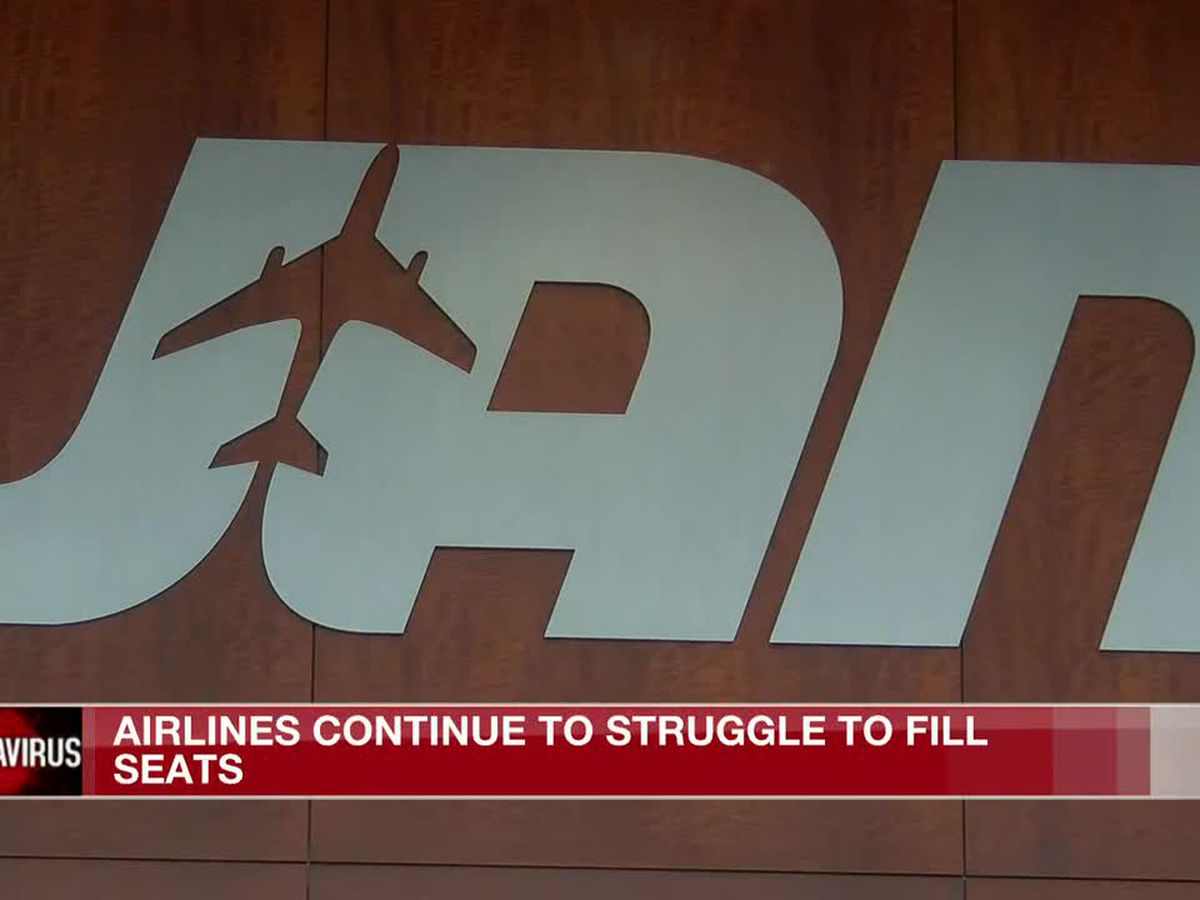 Airlines still struggling to fill seats as pandemic continues