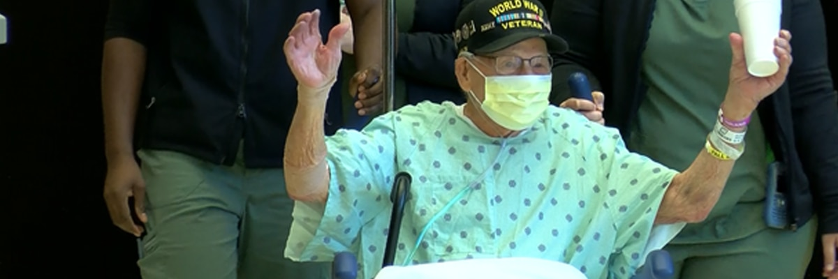 Alabama WWII Veteran beats COVID-19 in time for 104th birthday