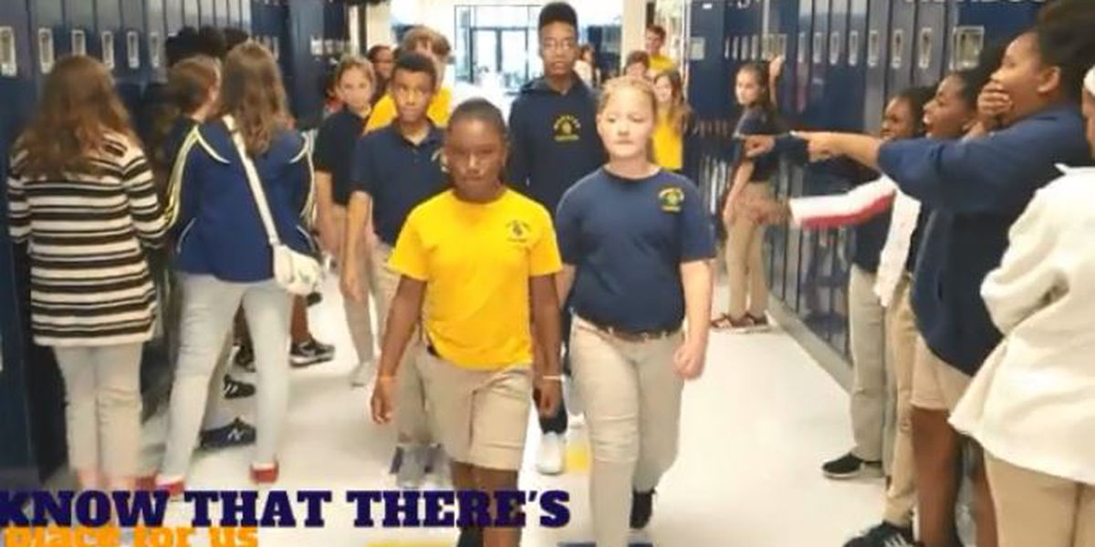 WATCH: Gautier students push back at bullies with music video