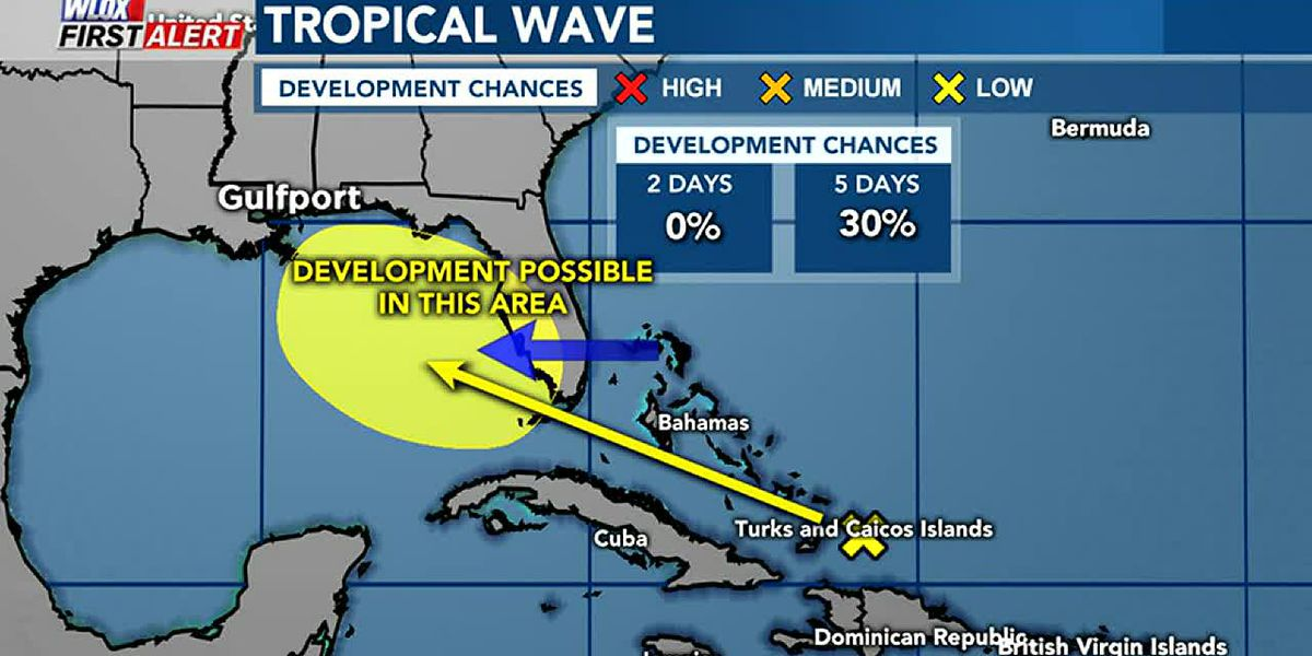 TROPICS VIDEO: 9-10-19 Tropical development possible in Gulf this weekend. Watching several waves.