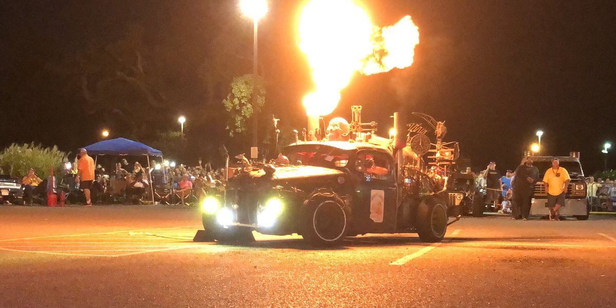 Cruisin the Coast heats up with flame-throwing contest