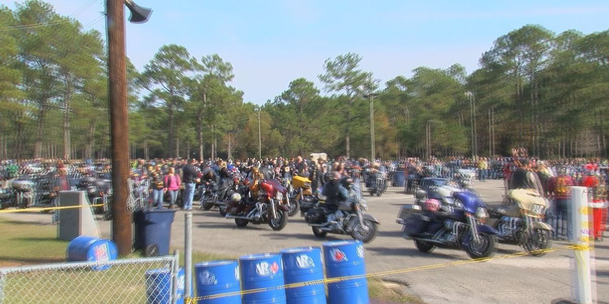 Hundred of bikers ride for good cause