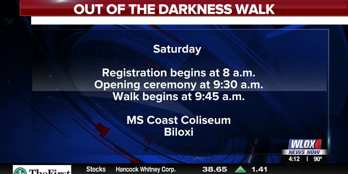 Happening Sept. 14th: Out of the Darkness Walk