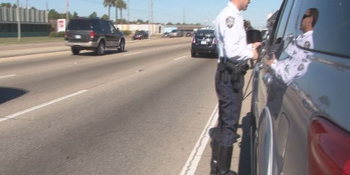 Police: Obey the law, move over when passing traffic stops