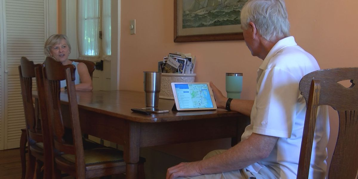Wilmington couple escapes Hurricane Florence to Mississippi