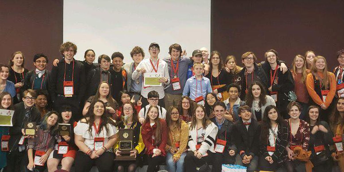 Ocean Springs High School theatre department advances to southeastern competition