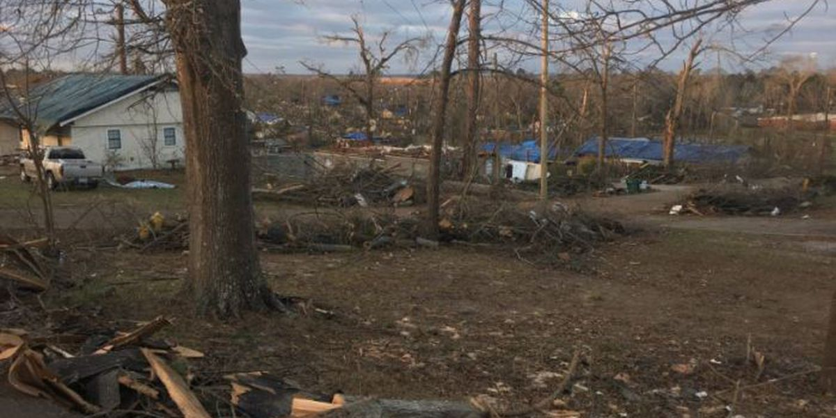 Petal picking up the pieces after devastating tornado