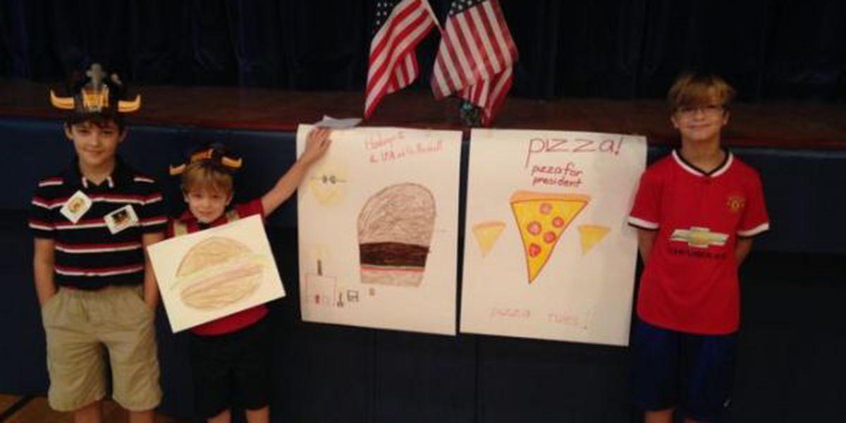 Pizza or Burgers? Biloxi students hold special vote on Election Day