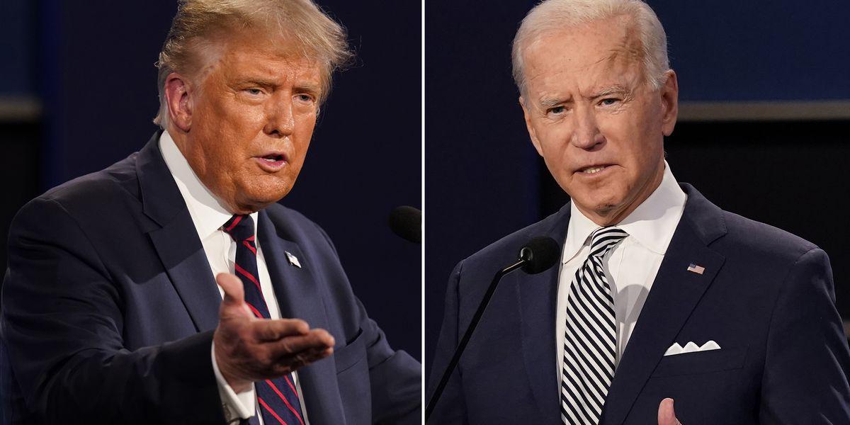 Biden returns to Iowa; Trump plays defense in Mich., Wis.