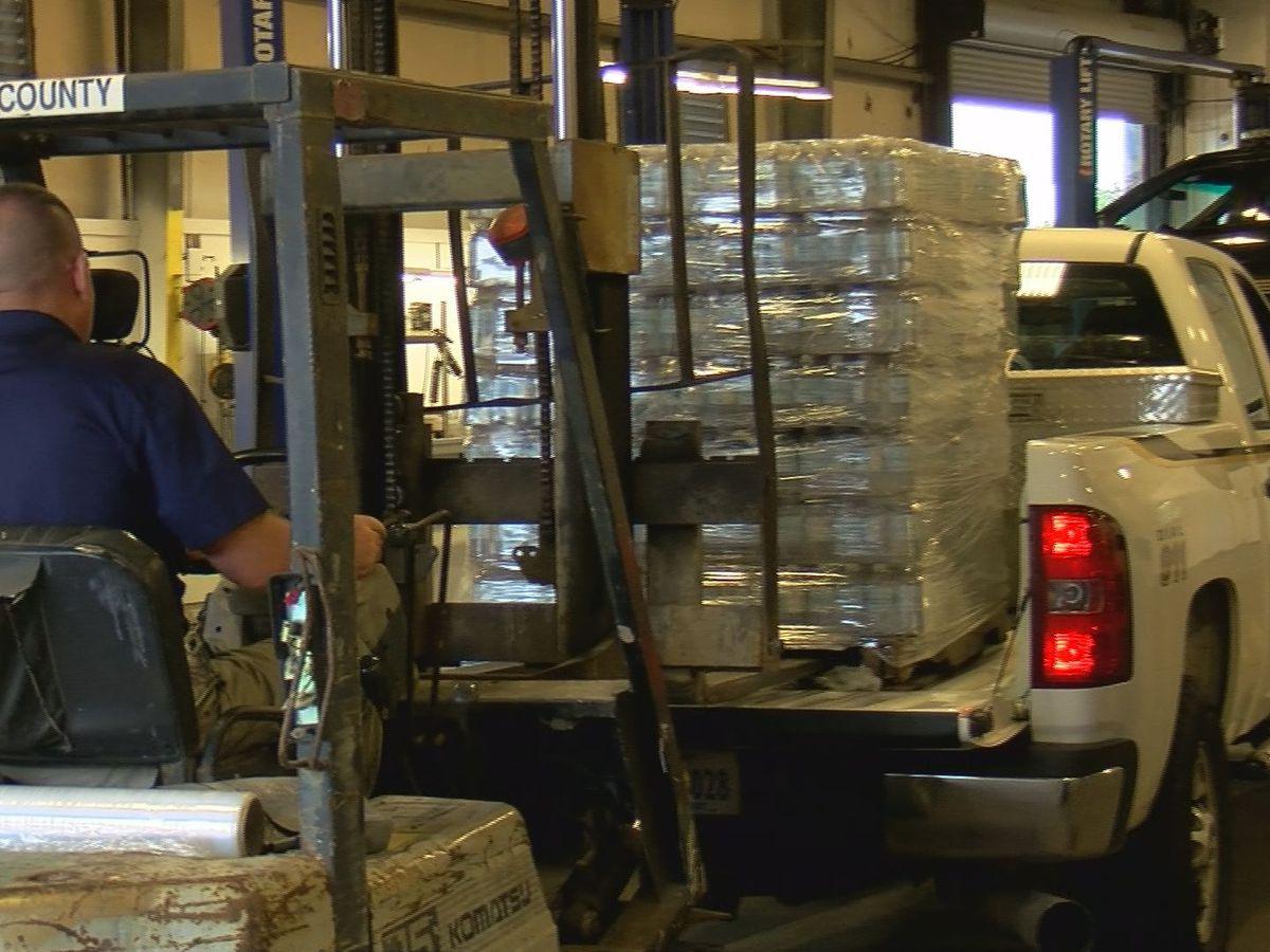 Giving back: Coast LEOs make hurricane relief trip to Orange Beach