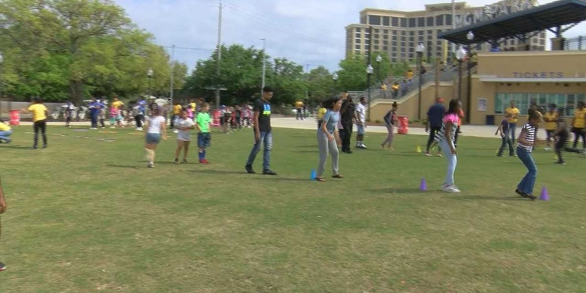 South Mississippi children get encouragement from Olympic athletes