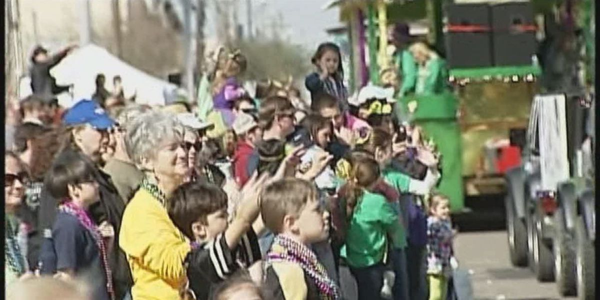 Fun and merriment in Pascagoula as the Jackson County Parade rolled