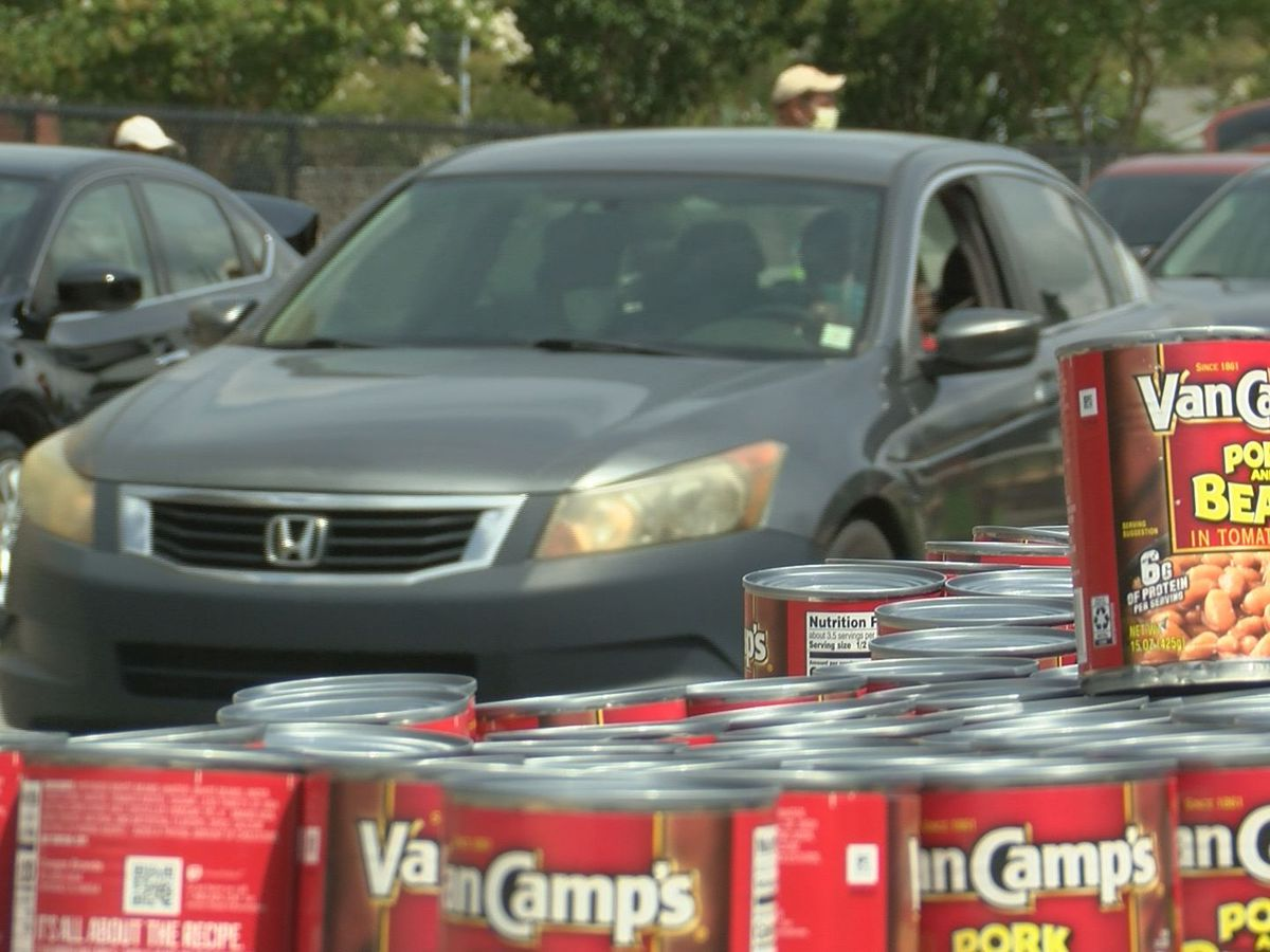 Gulfport food giveaway serves more than 550 families