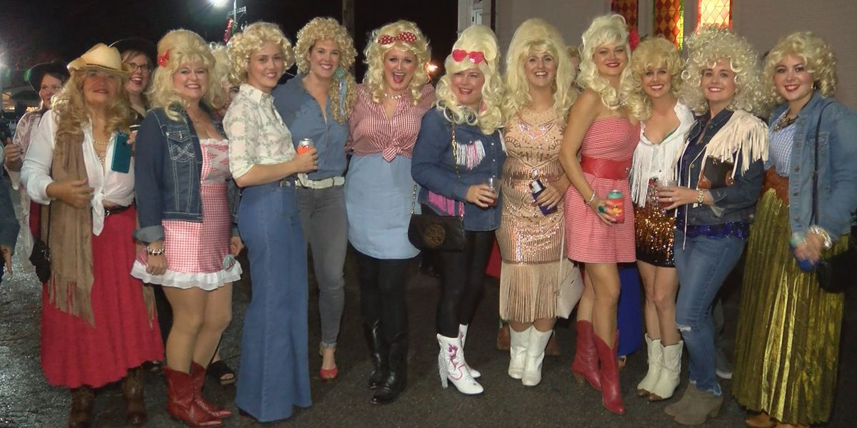 5th Annual Dolly Should draws dozens of Dollys to Bay St. Louis