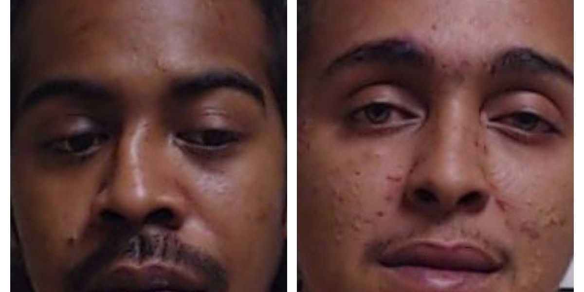 Police: two men arrested for assaulting a Gulfport police officer