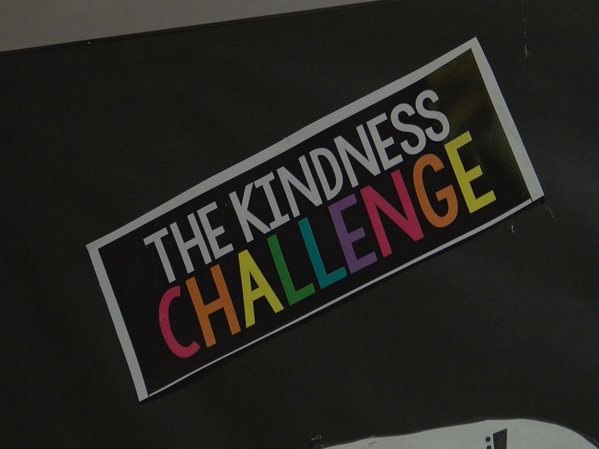 Pass Christian Elementary Schools participate in kindness challenge