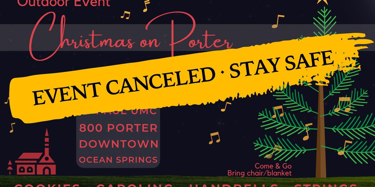 Christmas on Porter is canceled due to surge in COVID-19 cases