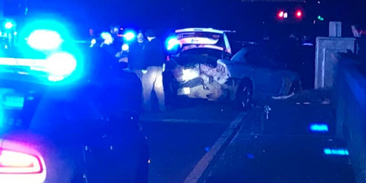 Two Pearl police officers injured in crash after pursuit 'will be okay'