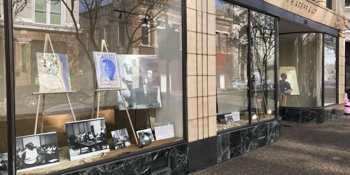Black History Month exhibit on display at Hattiesburg Kress building